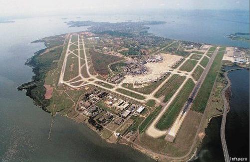 Rio : la ville dont l'aéroport est déjà une bossa