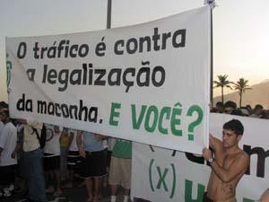 Manifestation à Rio pour la libéralisation du cannabis