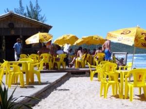 un-bar-de-plage-au-Brésil