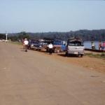 les quais d'Oiapoque au Brésil