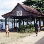 les quais de Saint Georges en Guyane