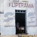 un bar d'Oiapoque au Brésil