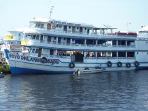 bateau amazonie brésilienne
