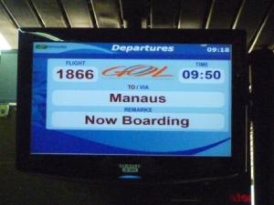 vol Rio Manaus