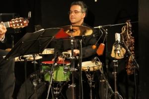 les percus de Caio Mamberti