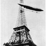 Dirigeable Santos Dumont Tour Eiffel