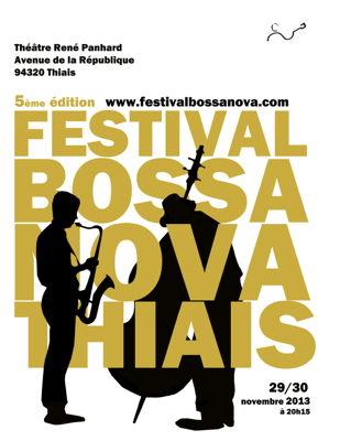 Celso Fonseca au festival bossa nova de Thiais 2013