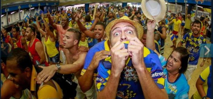 Carnaval de Rio 2014 : Tijuca champion