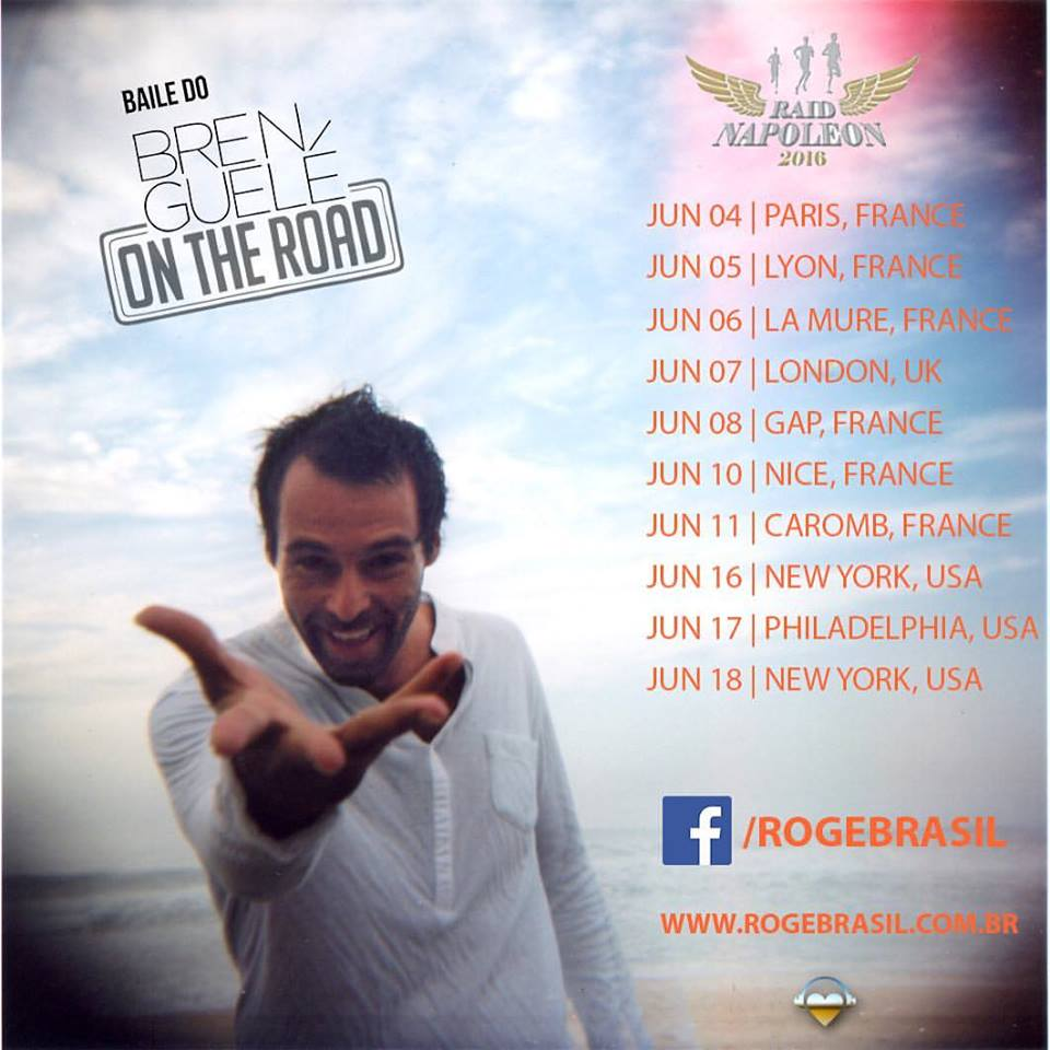 Rogê tournée Europe 2016